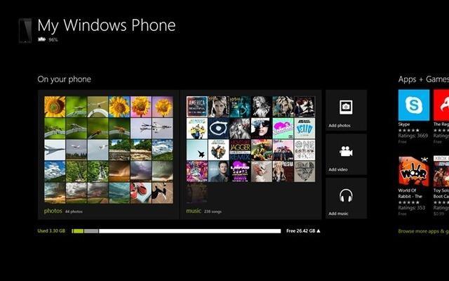 Windows Phone 8 se va intelege de minune cu Windows RT
