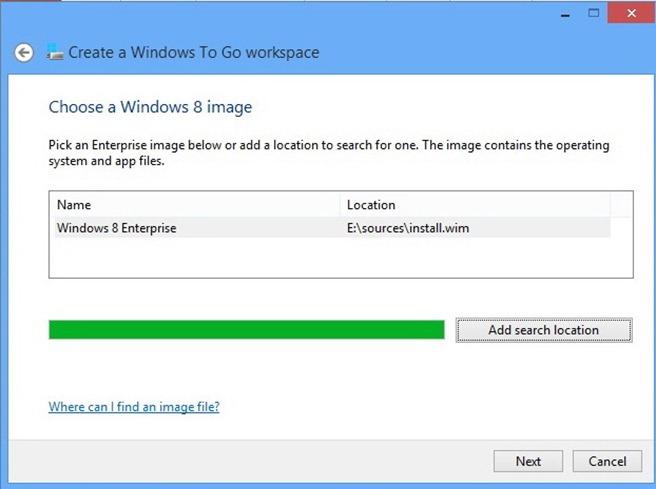Windows to Go 5
