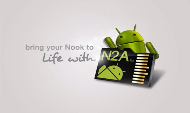 n2A nook tablet dualboot android jelly bean
