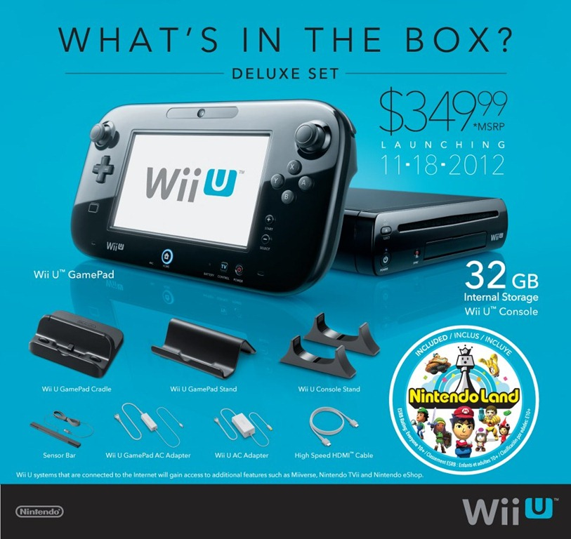 Wii U – Nintendo prezinta Unboxing, Conturi si Chat [+VIDEO]
