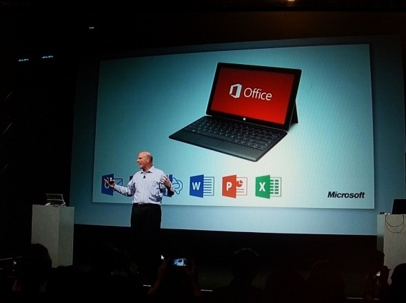 Office 2013 RT iese din Preview
