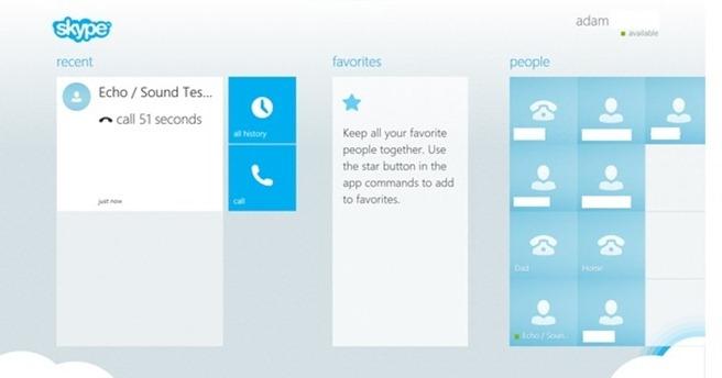 skype pentru windows 8
