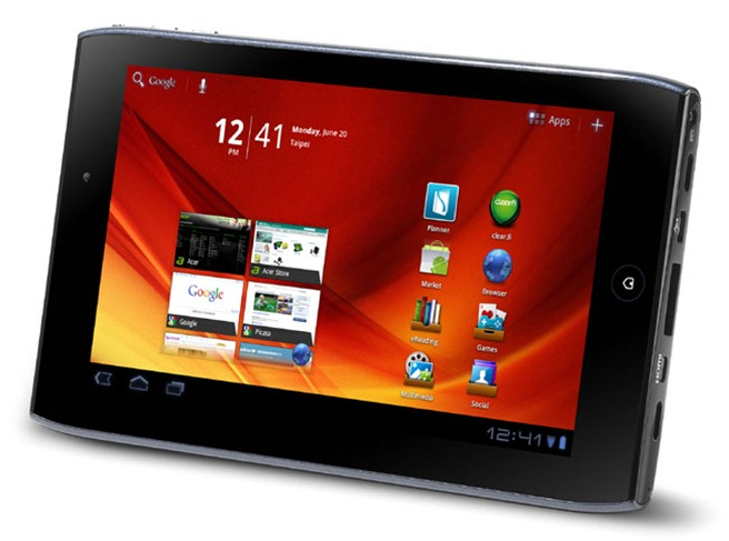 4. Acer Iconia Tab A100