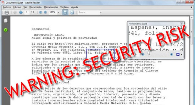 Adobe Reader security protected mode
