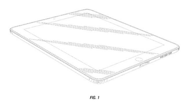 Apple Patent tablete curbe