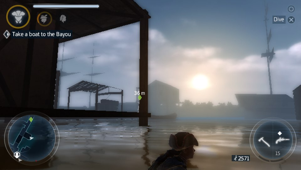 Assassin's Creed III Liberation - Swim
