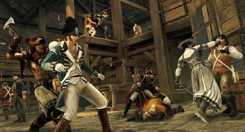 Assassin's Creed III multiplayer