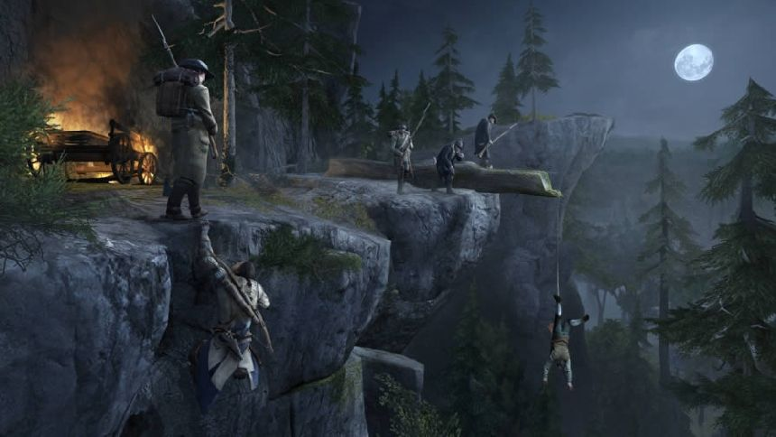Assassin's Creed III sneaking