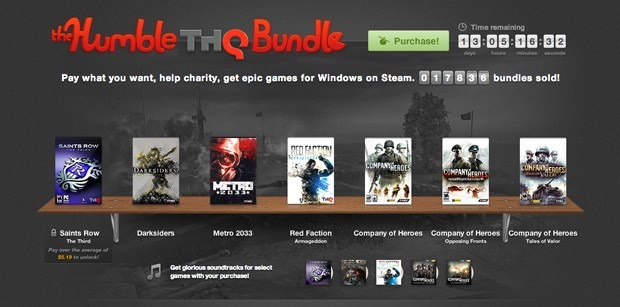 Un nou Humble Bundle –  jocuri pe Steam la super pret