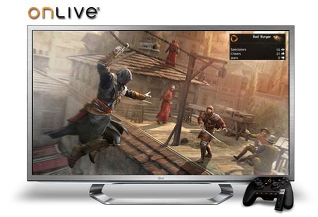 O parte din Smart TV-urile LG adopta solutia OnLive