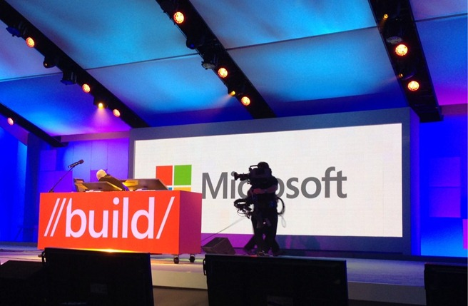 Microsoft build stage developers 2012