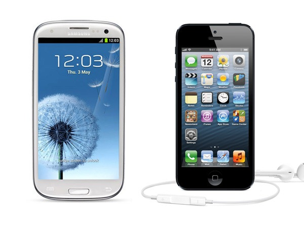 Noi victime in procesul greilor: Galaxy S III si iPhone 5