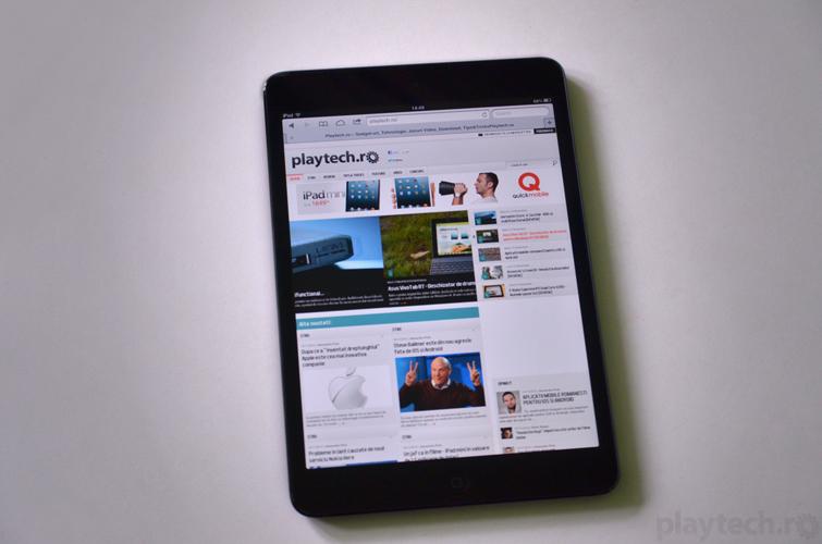 iPad Mini – Marimea nu conteaza [REVIEW]