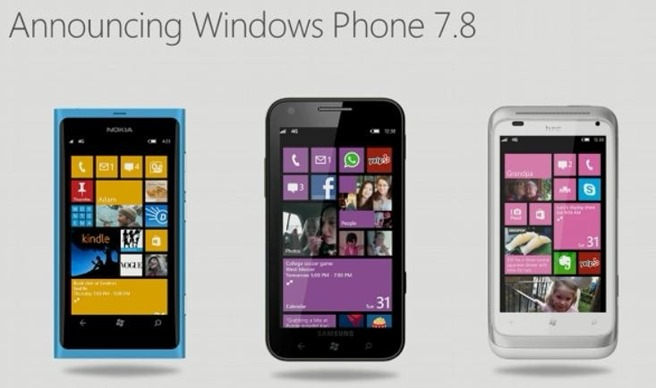 Windows phone 7.8 lansare oficiala