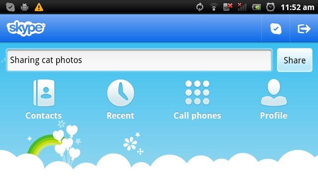 Skype primeste un update considerabil pe Android