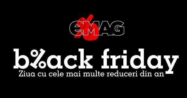 Emag se pregateste de tura a doua din Black Friday – LISTA COMPLETA DE REDUCERI