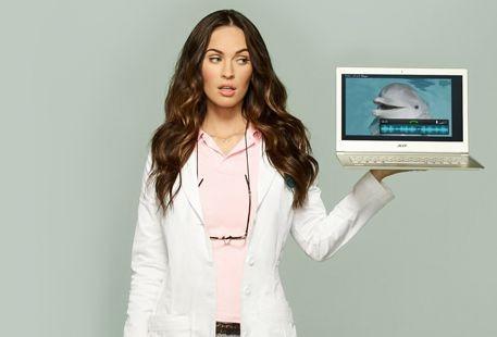 Acer a facut cea mai abstracta reclama cu Megan Fox