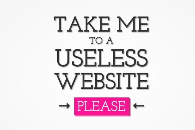 the useless internet