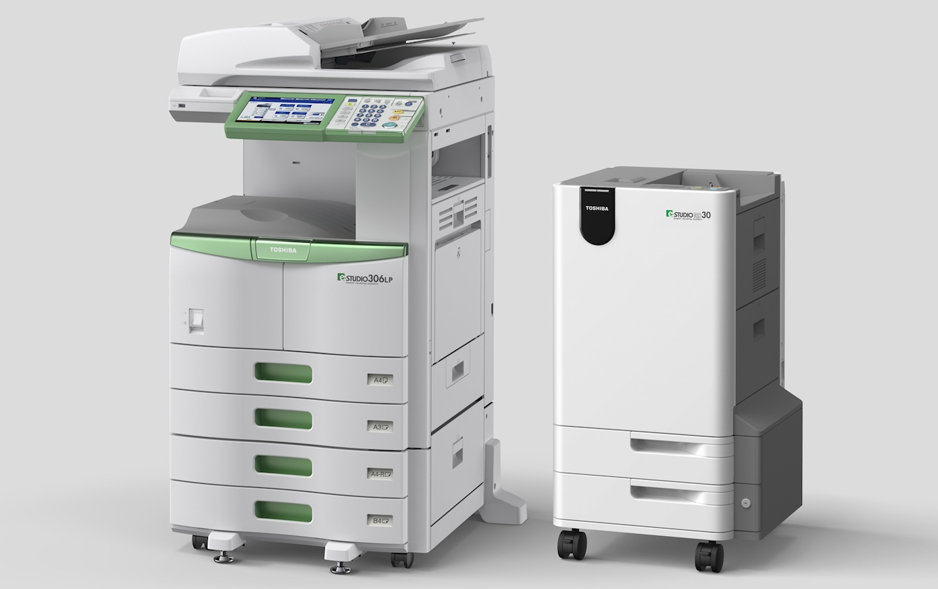 Toshiba introduce imprimanta care sterge documentele