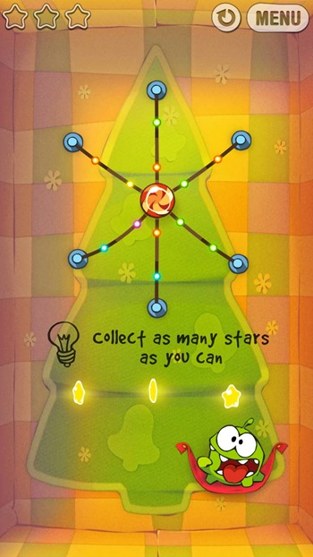 Cut The Rope Holiday Gift iOS iTunes Android