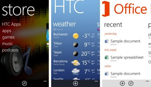 HTC 8X Aplicatii