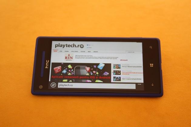 HTC 8X Windows Phone 8 Browser