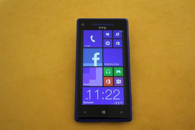 HTC 8X Modern UI