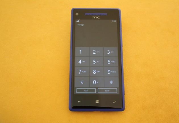 HTC 8X Telefonie