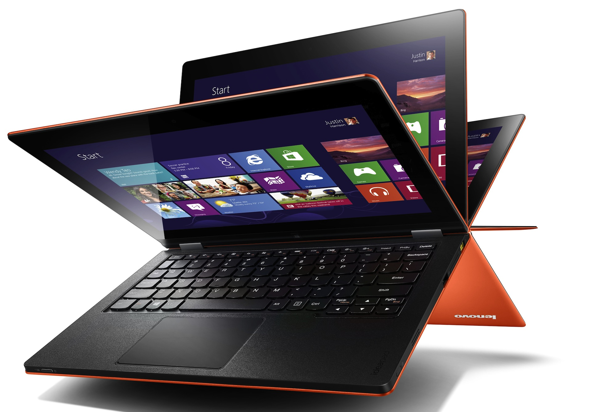 IdeaPad Yoga si ThinkPad Twist – Doua ultrabook-uri convertibile de la Lenovo