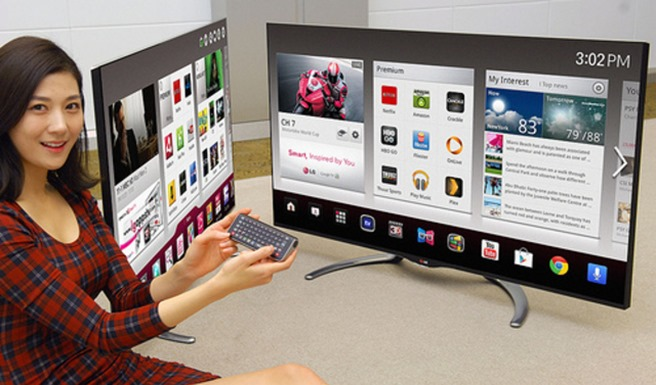 LG Smart TV Google TV 2012