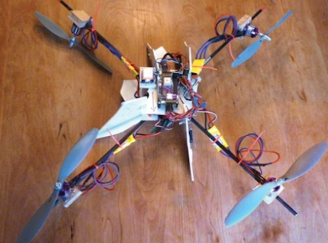 Quadcopter Drone Tracker