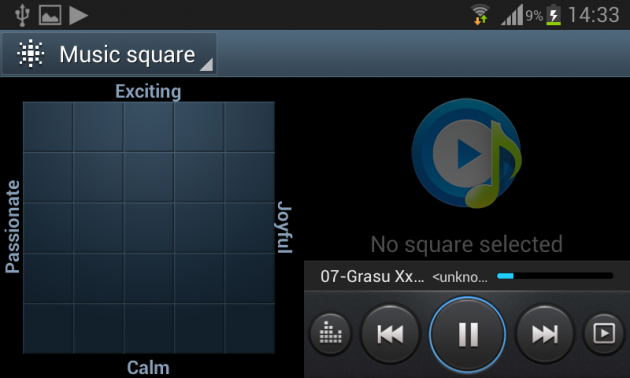 Samsung Galaxy S3 Mini Player Audio