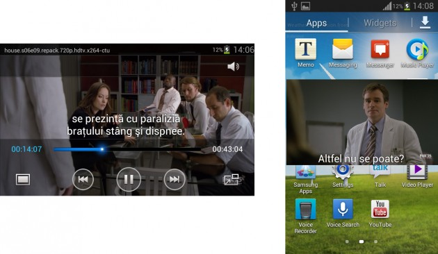 Samsung Galaxy S3 Mini Player Video