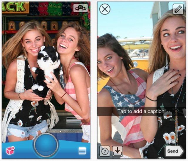 SnapChat devine brusc o aplicatie mai utila
