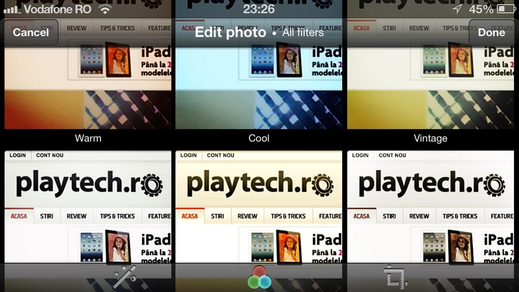 Twitter imbratiseaza filtrele pe iOS si Android
