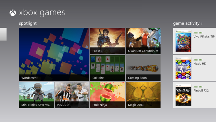 Windows Store Games