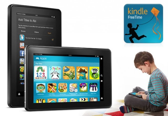 amazon kindle fire hd freetime unlimited update