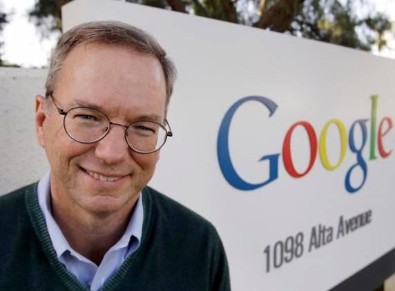 Eric Schmidt se bucura de succesul platformei Android
