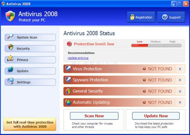 fake antivirus pedepsit inchisoare tribunal