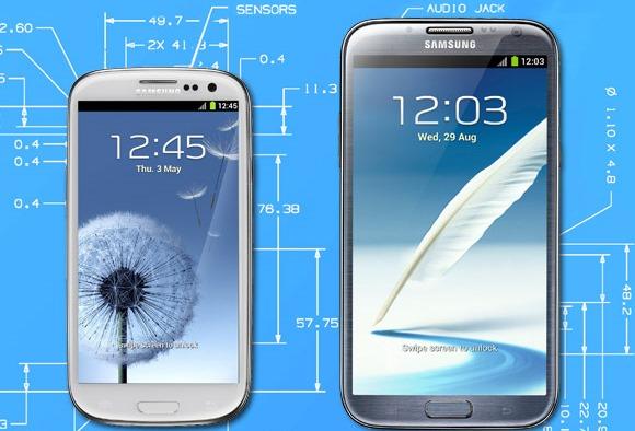 Samsung Galaxy S III si Note 2 vin cu o vulnerabilitate foarte grava