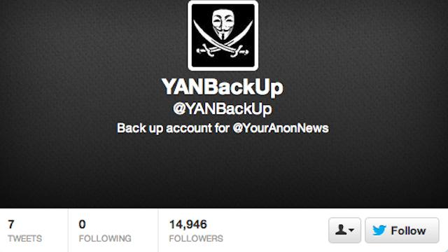 Twitter a suspendat contul celor de la Anonymous