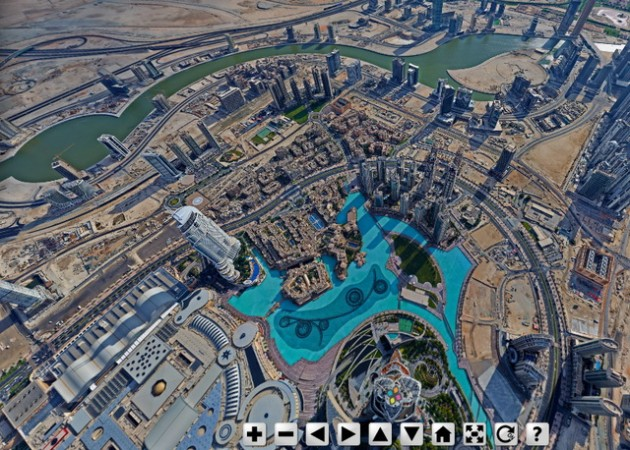 Burj Khalifa Panorama View