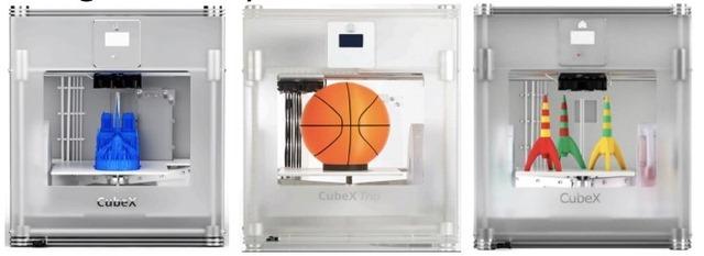 Noua imprimanta 3D CubeX nu mai e doar pentru jucarii