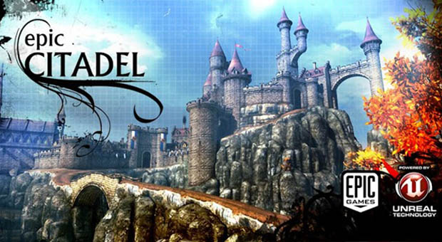 Epic Citadel Unreal 3 engine android