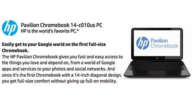 Si HP intra in hora sistemelor Chromebook cu un produs din seria Pavilion