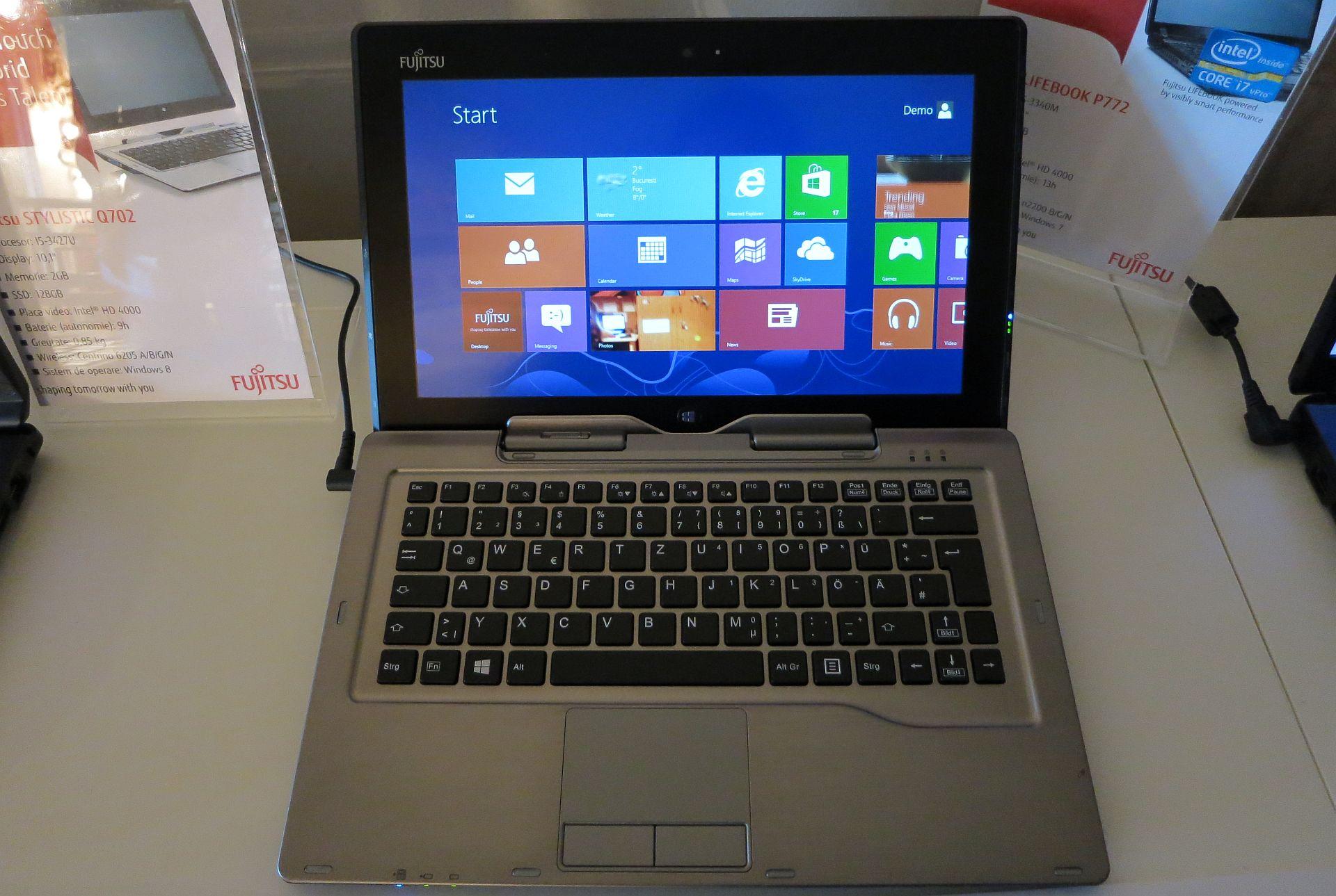 Fujitsu Stylistic Q702 – O tableta cu Windows 8 Pro