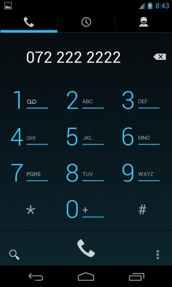 LG Nexus 4 Telefonie