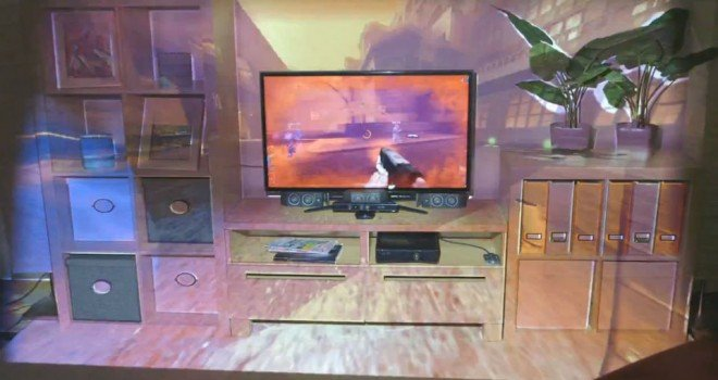 Microsoft Illumiroom – Imersiune in lumea jocurilor