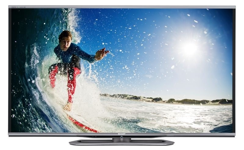 CES 2013 – Sharp promite sa impresioneze audienta cu noi LED TV-uri AQUOS