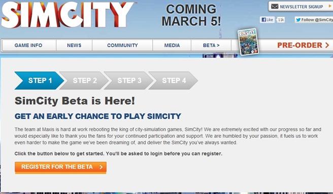 SimCity Beta online weekend